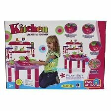 Girls Children's Kids Kitchen Play Set Toy Game Tools Great Xmas Gift
