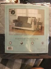 """NEW Quilted Reversible Microfiber Sofa Protector - Sofa Slipcover 75"""" x 110"""""""