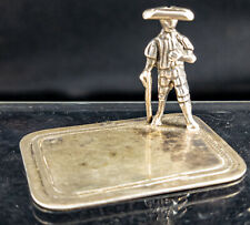 Antique Dutch 18th Century Sterling SIlver Table Whimsy Figural Decorative