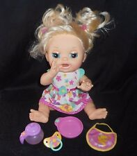 BABY ALIVE REAL SURPRISES 2012 GIRL DOLL TOY W/ ACCESSORIES ENGLISH / SPANISH