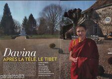 Coupure de presse Clipping 2012 Davina Delor Gym Tonic  (4 pages)