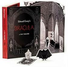 DRACULA ~ A TOY THEATRE ~ ILLUSTRATED by EDWARD GOREY ~ DIE CUT, SCORED ~ NEW