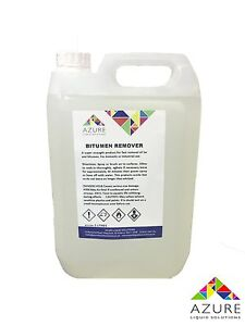 Bitumen & Tar Remover Super Strength Product Fast Removal Professional Use - 5L