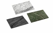 Large Heavy Marble Kitchen Chopping Cutting Board Slate White Black Green Boards
