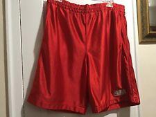 Nba Elevation Athletic Shorts Size Large Red Vguc