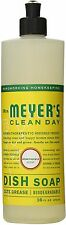 Meyers Clean Day Liquid Dish Soap, Honeysuckle Scent 16 oz (Pack of 2)