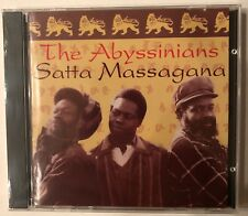The Abyssinians 'Satta Massagana' CD Heartbeat (1993) Roots Reggae - NEW