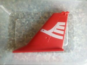 Lego part 55174 2x12x8 rudder x1 red decorated (E 56)