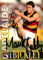 ✺Signed✺ 1996 ADELAIDE CROWS AFL Card MARK BICKLEY