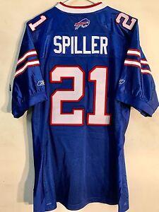 Reebok Authentic NFL Jersey Buffalo Bills Cj Spiller Blue sz 54