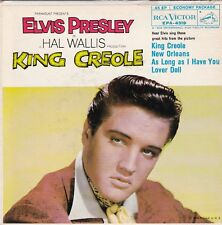"Elvis Presley ""King Creole""  1958  RCA EPA-4319  Record (VG++/NM)  Jacket (VG++)"