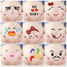 Cute Paper Viscid Stickers For Pregnant Women Put Up Belly Photography