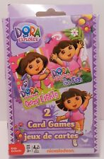 Card Game DORA THE EXPLORER - Go Fish and Crazy Eights - 2 Pack Playing Cards