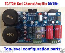Hifi TDA7294 dual stéréo amplificateur de puissance board kits avec haut-parleur protection 70W x2