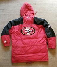 Starter Pro Line 49ers NFL Football Mens 90s Down Puffer Jacket 2XL Niners RARE