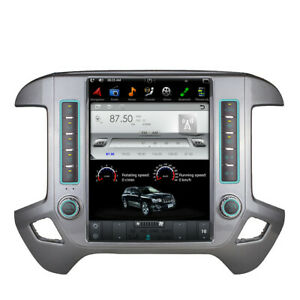 "For Chevrolet Silverado /GMC Sierra Android 9.0 Tesla screen 12"" Car radio GPS"