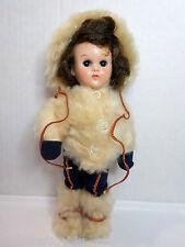 Vintage Vogue Ginny Doll Bent Knee walker w/ Ski outfit