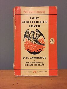 lady Chatterley's Lover by DH Lawrence - Penguin Books 1961