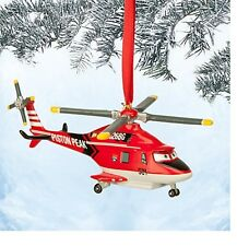 Disney Authentic Planes Blade Helicopter Holiday Christmas Ornament Figure NEW