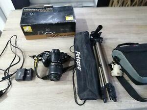 Nikon d3000 camera