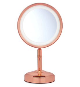 No7 Illuminated Limited Edition Rose Gold Makeup Mirror