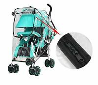 Zipper Rain Wind Cover Shield Protector for CHICCO Baby Infant Child Strollers