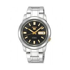 Relojes de pulsera automático de acero inoxidable resistente al agua