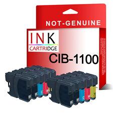 10 Ink Cartridges for DCP-145C DCP-163C DCP-165C DCP-167C DCP-195C DCP-197C