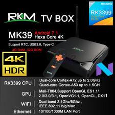 RKM MK39 4G 32G Hexa Core RK3399 Android 7.1 TV Box AC WIFI Bluetooth USB 3.0 PC