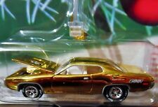 JOHNNY LIGHTNING 71 1971 PLYMOUTH ROAD RUNNER HOLIDAY MUSCLE CHRISTMAS TREE CAR