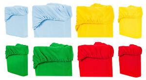 Jersey Spannbettlaken Spannbetttuch 120/60 140/70 Baby Bettlaken