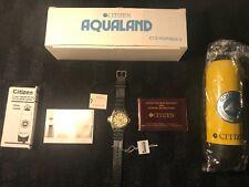 Citizen Promaster Aqualand Divers Scuba Watch Mint