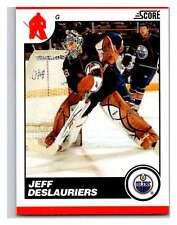 (HCW) 2010-11 Score Glossy #215 Jeff Deslauriers Oilers Mint