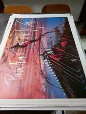 Affiche poster Vintage Originale ULTRA RARE ! Pink Floyd  the Wall  rare !!!