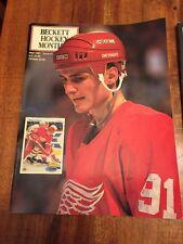 Beckett Hockey Monthly Magazine, May 1991 Sergei Sedorov, Detroit Red Wings (CN)