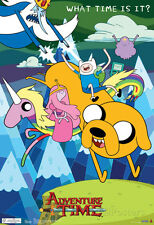 Adventure Time What Time Is It? Television Poster Poster Print, 13x19