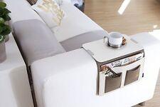Canapé rangement table basse de suspension Tablette PORTEZ marron