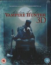 Abraham Lincoln Vampirjäger 3D, geprägtes Blu Ray Steelbook, NEU & OVP