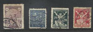 Czechoslovakia 4 stamps