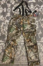 Under Armour Timber Storm Realtree Camo Bib Pants Men Sz Large $220 1316736-991