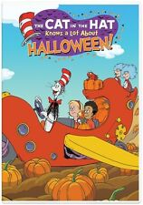 Cat In The Hat Knows A Lot About Halloween (DVD,2016)