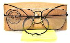 Ray-Ban USA Vintage NOS B&L Aviator Caravan Blue *Changeable lens New Sunglasses