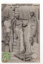 AFRIQUE FRANCAISE colonie ethnies nus GUINEE FRANCAISE jeunes filles soussou 2