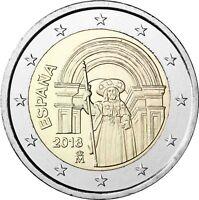 Spanien 2 Euro 2018 Santiago de Compostela Gedenkmünze bankfrisch