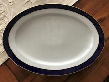 "Villeroy & Boch Royal Blue KOBALT Heinrich 16"" Plater Royal Blue Centerpiece"