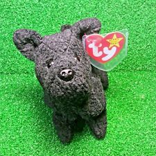 f3940224cc4 Ty Beanie Babies Scottie The Black Dog 1996 Retired Plush - MWMT - FREE  Shipping
