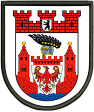 Spandau Wappen der Bezirke Berlins  Aufnäher, Pin ,Aufbügler.