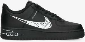 NIKE AIR FORCE 1 LV8 UTILITY  Herrenschuhe Turnschuhe Leder Sneakers  CW7581 001