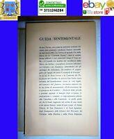 Mario Gromo Guida Sentimentale Alberto Tallone Editore Van Gelder Zonen TORINO