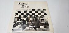 Shallow Reign: Shallow Reign Lp Sealed (Austin Tx c. '86) Rock & Pop Rare!